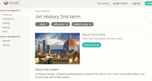 Art History 2nd term